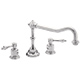 California Faucet Nickel, Polished PVD Tub Filler Product Number: TO-3608-PN