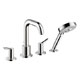 Hansgrohe Chrome, Polished Tub Filler Product Number: 31733001
