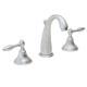 California Faucet Chrome, Satin Lavatory Faucet Product Number: 6402-SC