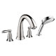 Hansgrohe Nickel, Satin Tub Filler Product Number: 06123820