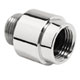 Hansgrohe Nickel, Satin Vacuum Breaker Product Number: 06510820