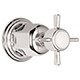 California Faucet Chrome, Polished Volume Control Trim Product Number: TO-34-W-PC