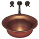 Bates & Bates Bronze, Satin Lavatory Sink Product Number: P1818.RV.WB