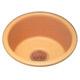 Bates & Bates Gold, Satin Lavatory Sink Product Number: P1515.D.TC