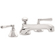 California Faucet Nickel, Polished PVD Tub Filler Product Number: TO-4608-PN