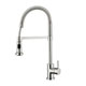 Aquabrass Nickel, Satin Kitchen Faucet Product Number: 30045BN
