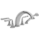 Newport Brass Nickel, Satin Tub Filler Product Number: 3-1747/15S