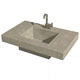 Cement Elegance Brown Lavatory Sink Product Number: BASIN KAHLUA