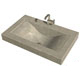 Cement Elegance Green Lavatory Sink Product Number: WAVE
