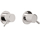California Faucet Chrome, Polished 2 Valve Tub or Shower Trim Product Number: TO-6206L-PC