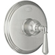 California Faucet Nickel, Satin Pressure Balance Shower Trim Product Number: TO-PBL-46-SN