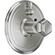 California Faucet Chrome, Polished Thermostatic Trim Only Product Number: TO-TH1L-51-PC
