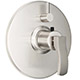 California Faucet Chrome, Polished Thermostatic Trim Only Product Number: TO-TH1L-44-PC