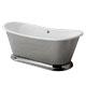 Waterworks Nickel, Antique Bath Tub Product Number: 13-25755-88842