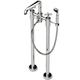 Waterworks Nickel, Polished Tub Filler Product Number: 09-59739-49660