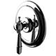 Waterworks Brass, Unlacquered Pressure Balance Shower Trim Product Number: 05-82431-99409