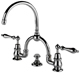Waterworks Chrome, Polished Lavatory Faucet Product Number: 07-14419-70308