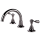 Waterworks Nickel, Polished Lavatory Faucet Product Number: 07-57404-68554