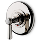 Waterworks Bronze, Oil Rubbed Thermostatic Trim Only Product Number: 05-17379-99365