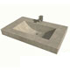 Cement Elegance Grey Lavatory Sink Product Number: HALF BARREL